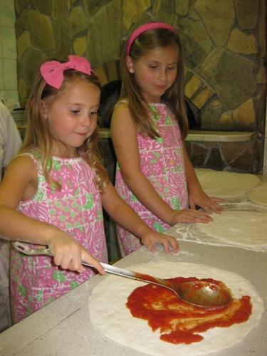 kids pizza class in rome