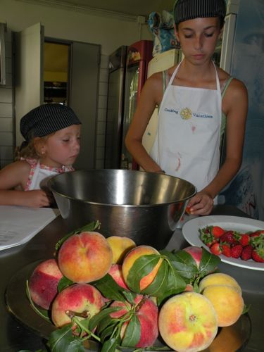 kids cooking class in rome