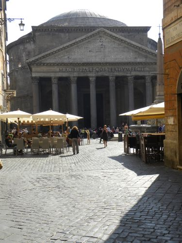Cooking classes Rome - pantheon