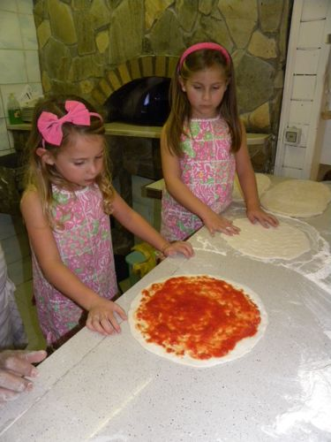 Pizza making class Rome - Kids
