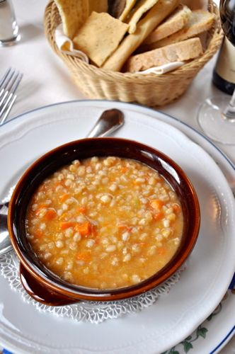 Zuppa di Fagioli tuscan cooking classes