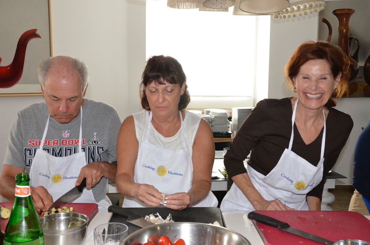 bologna cooking class kitchen